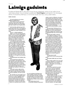 Intervija ar Martu Melgalvi