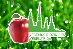Rīgas pašvaldības mājas lapas veseligsridzinieks.lv logo